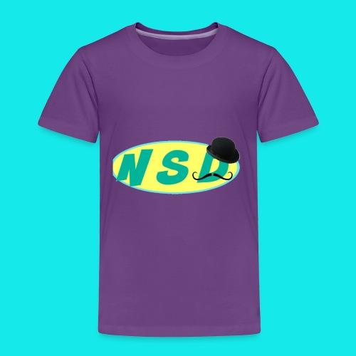 NotSoDapper logo - Toddler Premium T-Shirt