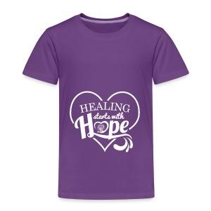 Healing with Hope - Toddler Premium T-Shirt