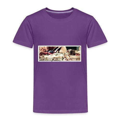 Ladies Morning Cup - Toddler Premium T-Shirt