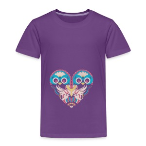 hearts of owls - Toddler Premium T-Shirt