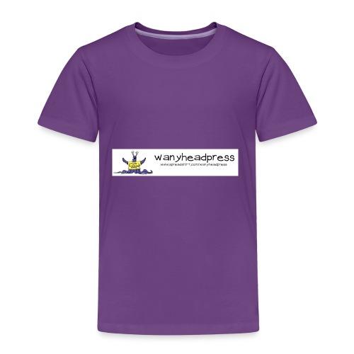 Wanyheadpress Logo - Toddler Premium T-Shirt