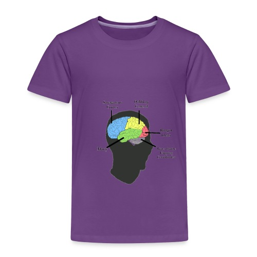 Corbin YT brain diagram - Toddler Premium T-Shirt