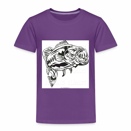 Bass T-shirt - Toddler Premium T-Shirt