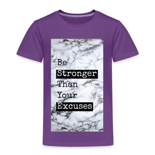 positive reminder - Toddler Premium T-Shirt