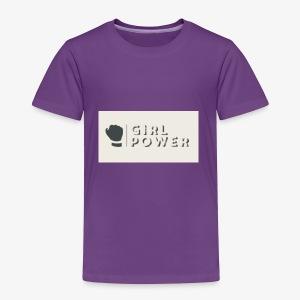 girl power - Toddler Premium T-Shirt
