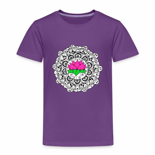 Lotus Flower Mandala - Toddler Premium T-Shirt