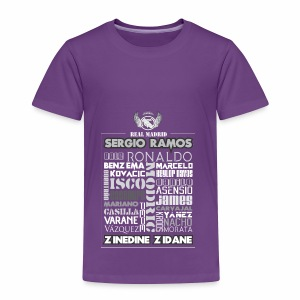 Real Madrid Design - Toddler Premium T-Shirt