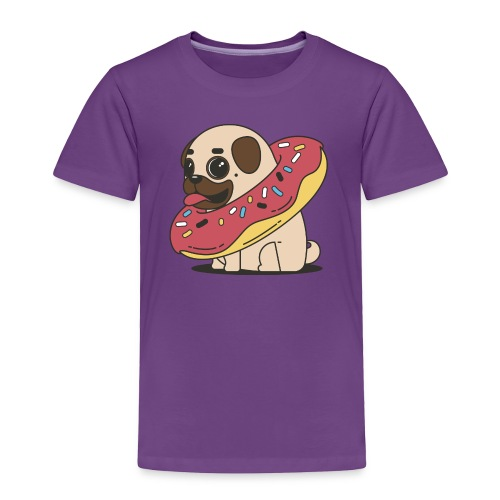 little pug - Toddler Premium T-Shirt