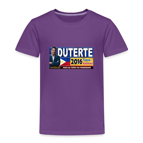 Duterte Icon - Toddler Premium T-Shirt