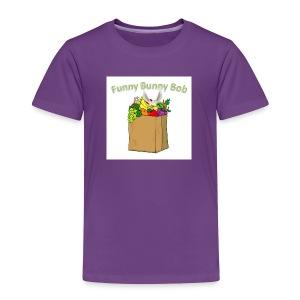Funny Bunny Bob - Toddler Premium T-Shirt
