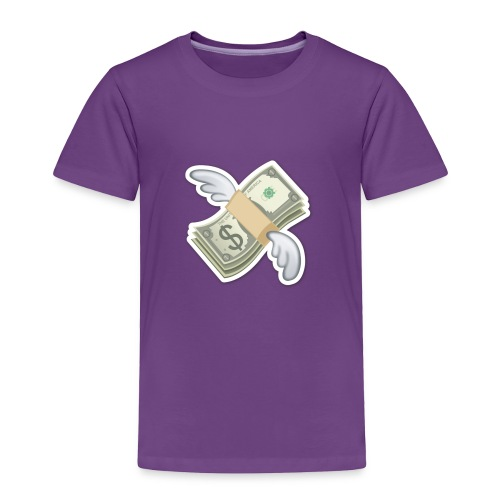 Money With Wings - Toddler Premium T-Shirt