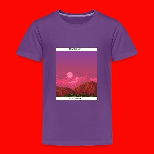 TEAM OKAY 8-bit - Toddler Premium T-Shirt