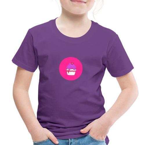 Doll Time Cupcake! - Toddler Premium T-Shirt
