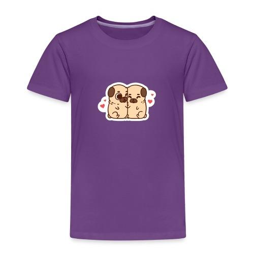 dog love - Toddler Premium T-Shirt