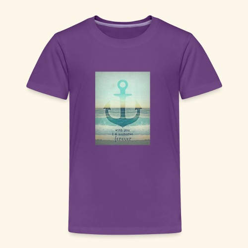 God is my anchor - Toddler Premium T-Shirt