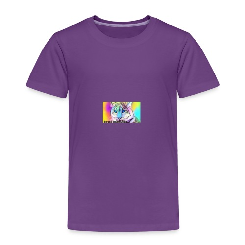 Rainbow Tiger Design Cases - Toddler Premium T-Shirt