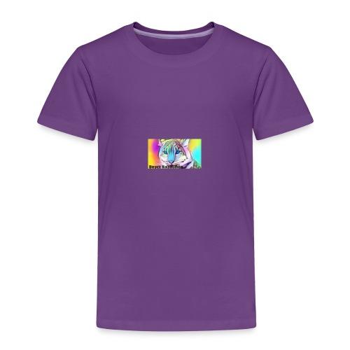 Rainbow Tiger Design Cases - Toddler Premium T-Shirt
