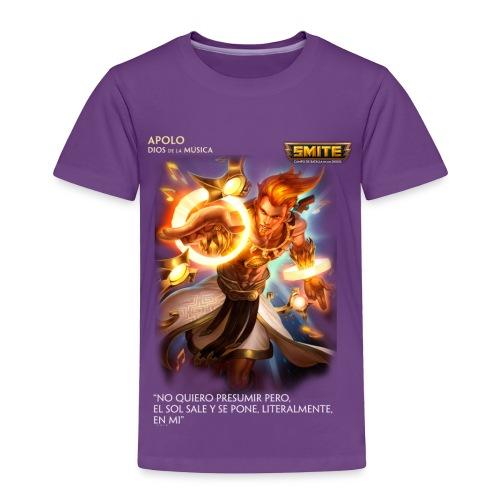 Smite Cloth - Apolo - Toddler Premium T-Shirt