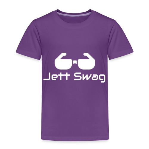 Jett Swag Sun Glasses White - Toddler Premium T-Shirt