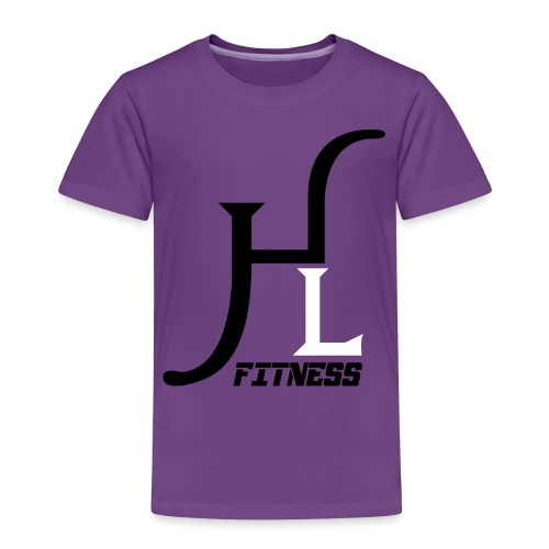 HIIT Life Fitness logo white - Toddler Premium T-Shirt