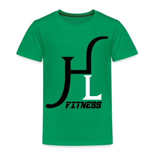 HIIT Life Fitness logo white - Toddler Premium T-Shirt
