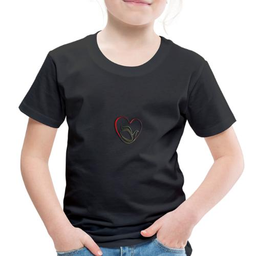 Love and Pureness of a Dove - Toddler Premium T-Shirt