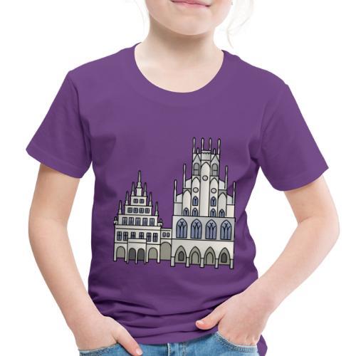Town Hall Münster, Cityhall, Mayor - Toddler Premium T-Shirt
