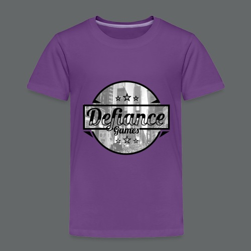 Defiance Games Street Logo Shirt - Toddler Premium T-Shirt