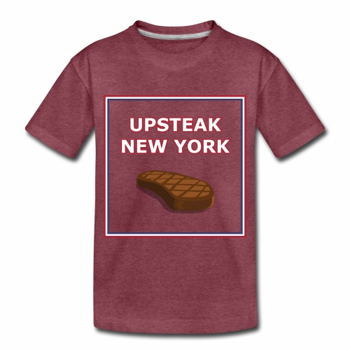 Upsteak New York | July 4 Edition - Toddler Premium T-Shirt