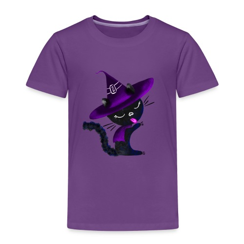 Cute Magical Cat - Toddler Premium T-Shirt