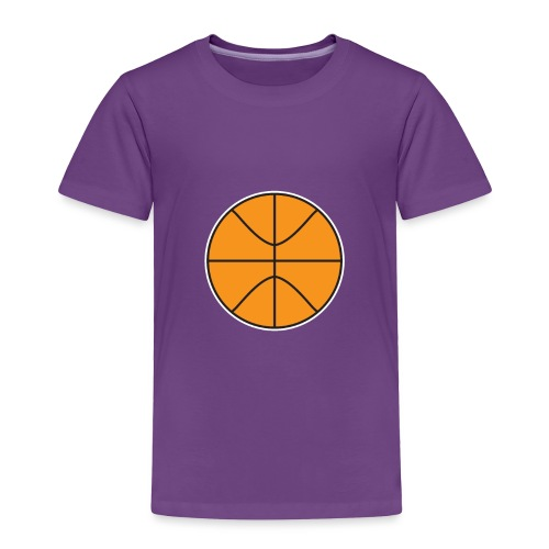 Plain basketball - Toddler Premium T-Shirt