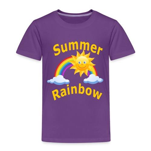 Summer Rainbow - Toddler Premium T-Shirt