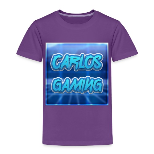 Carlos Gaming merchandise - Toddler Premium T-Shirt