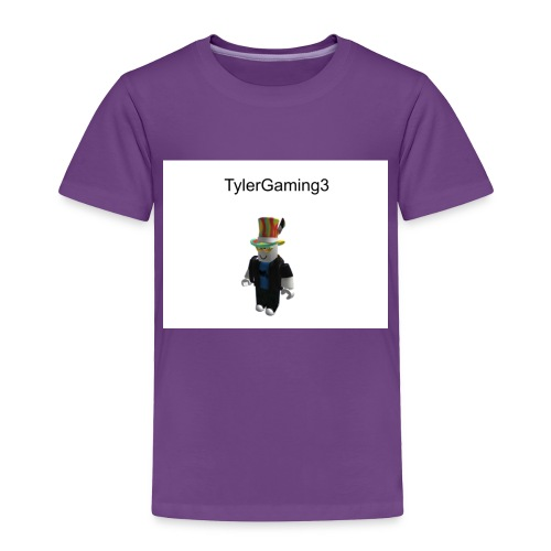 TylerGaming3 Roblox - Toddler Premium T-Shirt