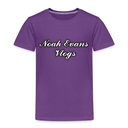 Noah Evans Vlogs - Toddler Premium T-Shirt