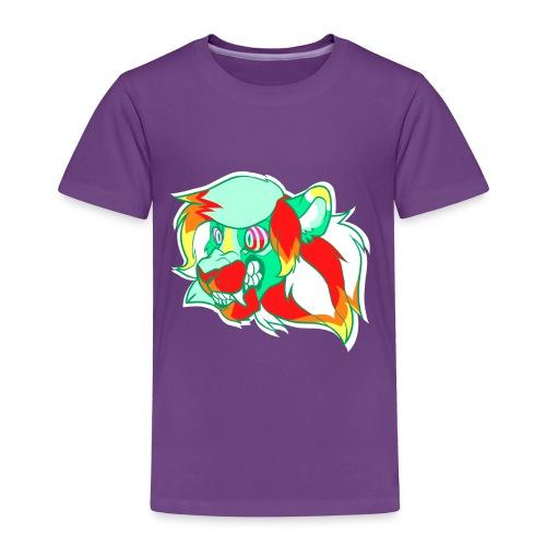 Psychedelic Lion - Toddler Premium T-Shirt