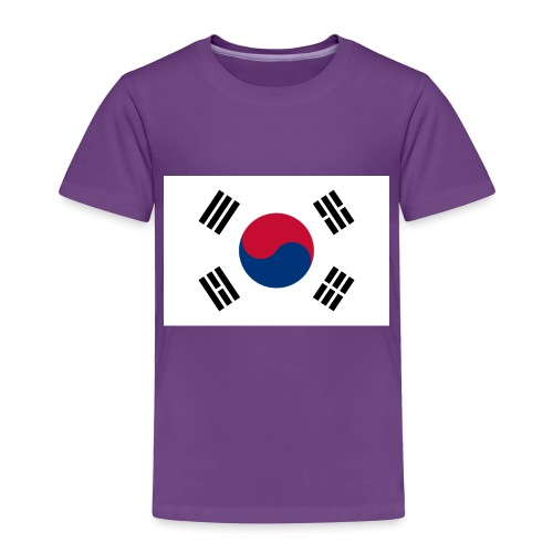 Flag of South Korea - Toddler Premium T-Shirt
