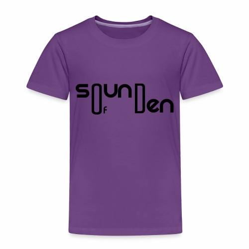 Soundofden Classical Black Logo - Toddler Premium T-Shirt