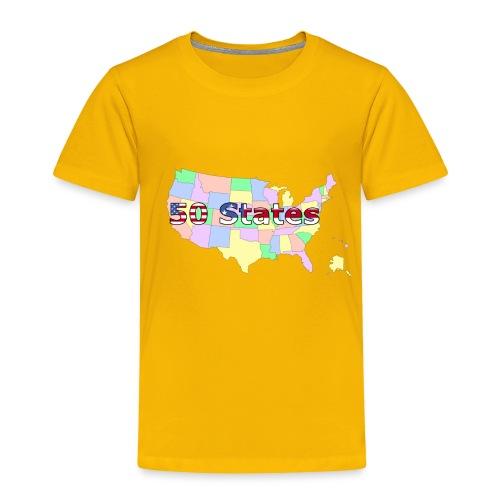50 states - Toddler Premium T-Shirt
