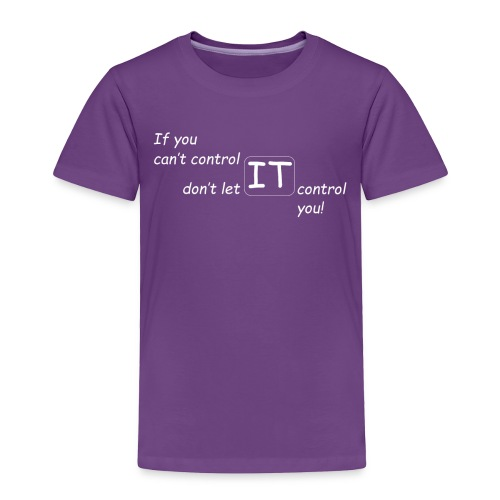 The Control Design Collection - Toddler Premium T-Shirt