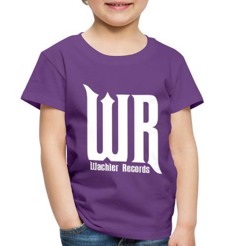 Wachler Records Light Logo - Toddler Premium T-Shirt