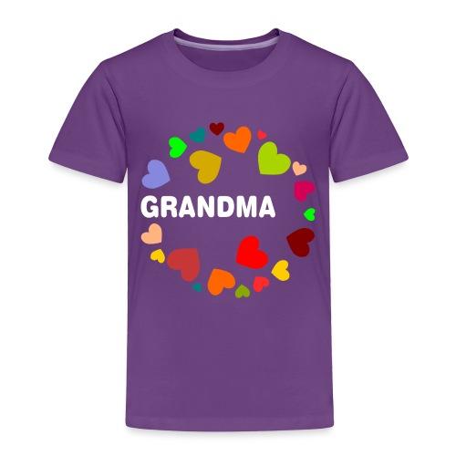 Grandma - Toddler Premium T-Shirt