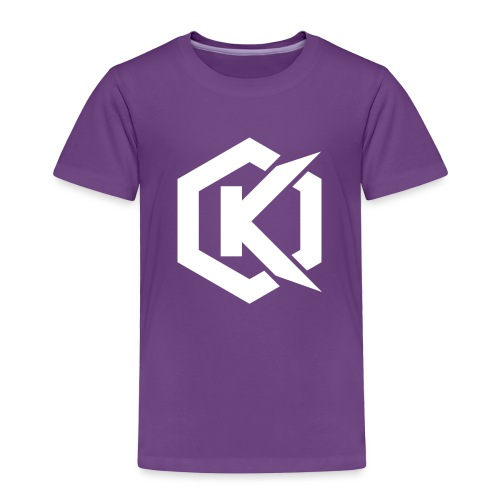 Logo de Kunsel sur Twitch et Ylutube - Toddler Premium T-Shirt