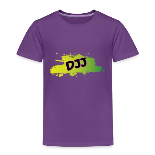 DJJ Green splash - Toddler Premium T-Shirt