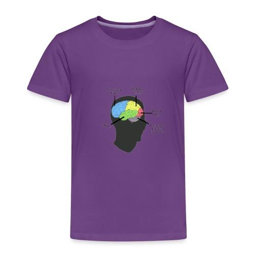Corbin YT brain diagram - Toddler Premium T-Shirt