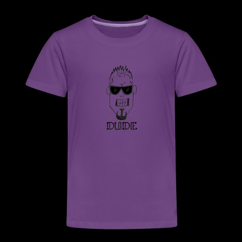 Dude Head 1 - Toddler Premium T-Shirt