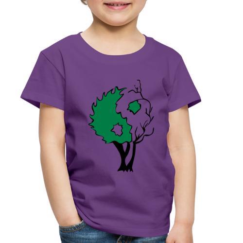 Yin Yang Tree - Toddler Premium T-Shirt