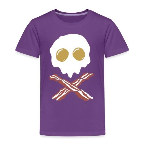 Breakfast Skull - Toddler Premium T-Shirt