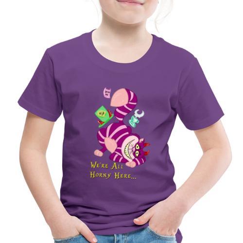 Cheshire Cat - Toddler Premium T-Shirt