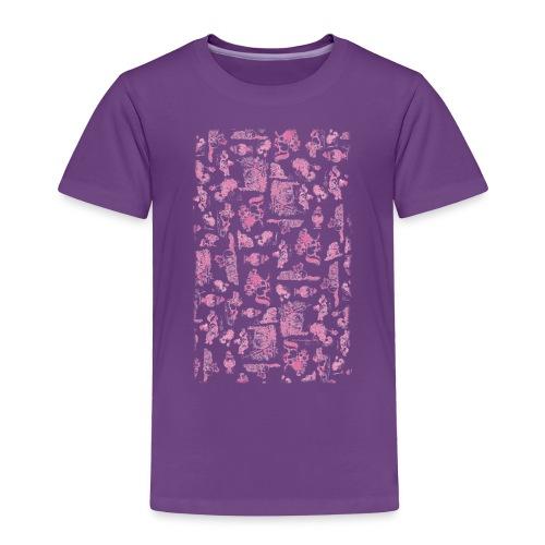PonyCartoons Pink Thelwell Cartoon - Toddler Premium T-Shirt